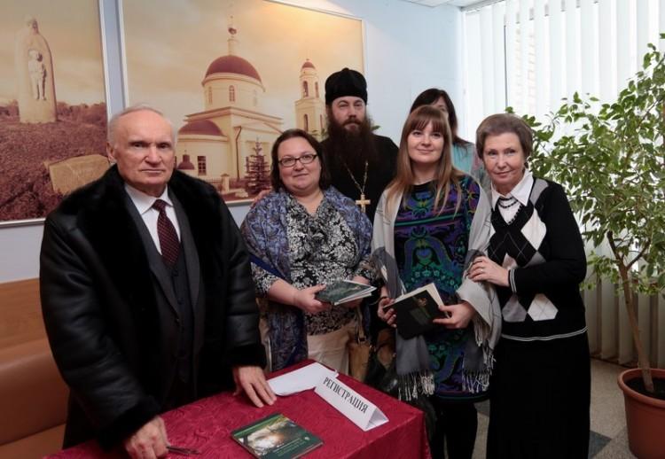 После лекции Алексея Ильича Осипова