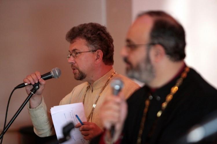 Священник Виктор Григоренко и протоиерей Лев Шихляров