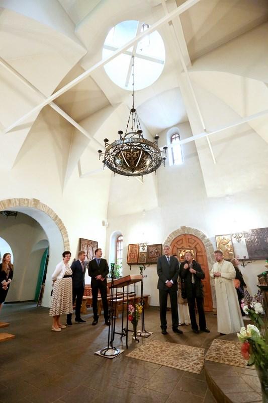 В Сергиевском храме