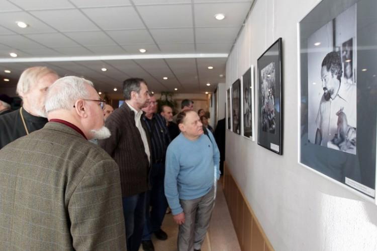 Открытие выставки Протоиерей Александр Мень - художник