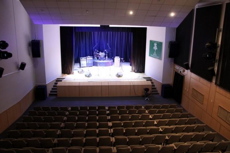 Киноконцертный зал. Вид из проекционной