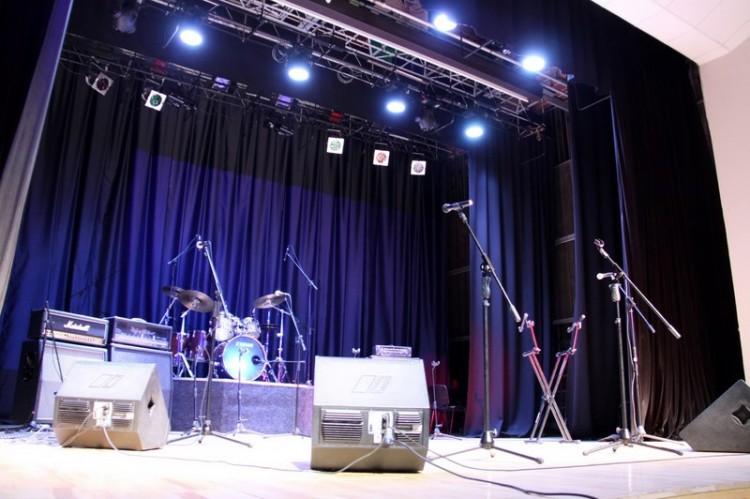 Сцена киноконцертного зала