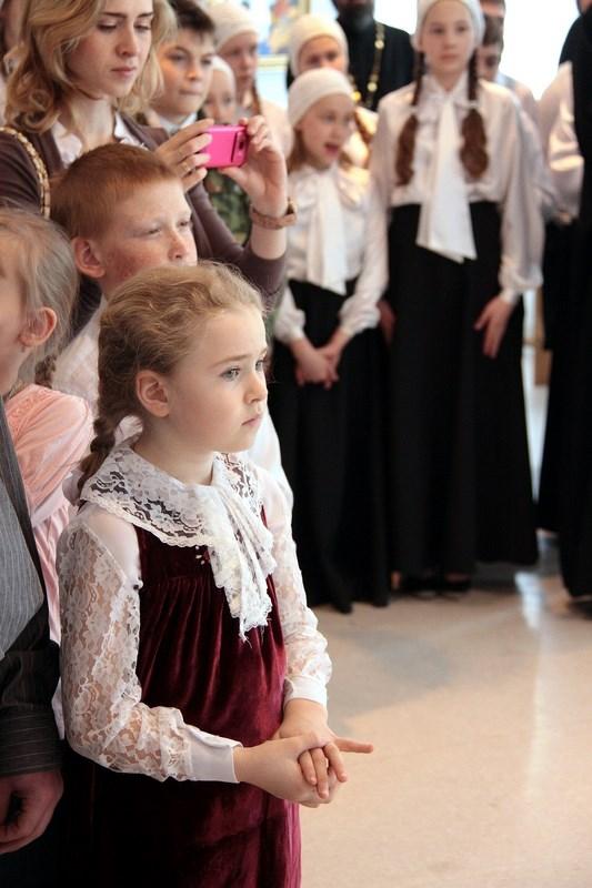 Открытие выставки Свет Пасхальный