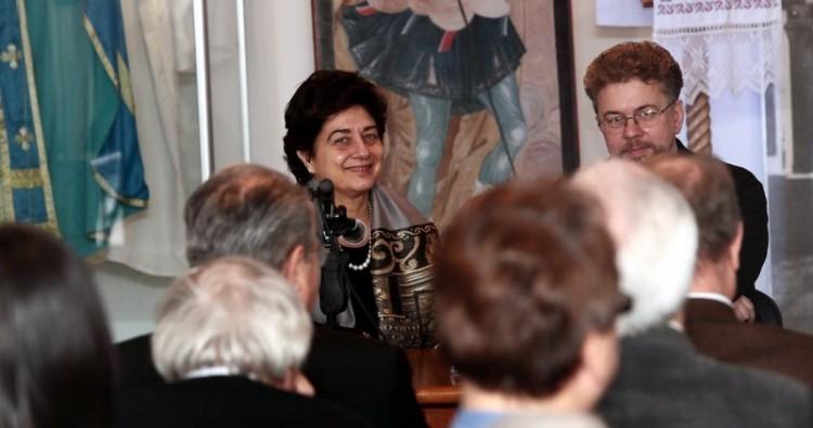 Джованна Парравичини, атташе по культуре посольства Ватикана в России