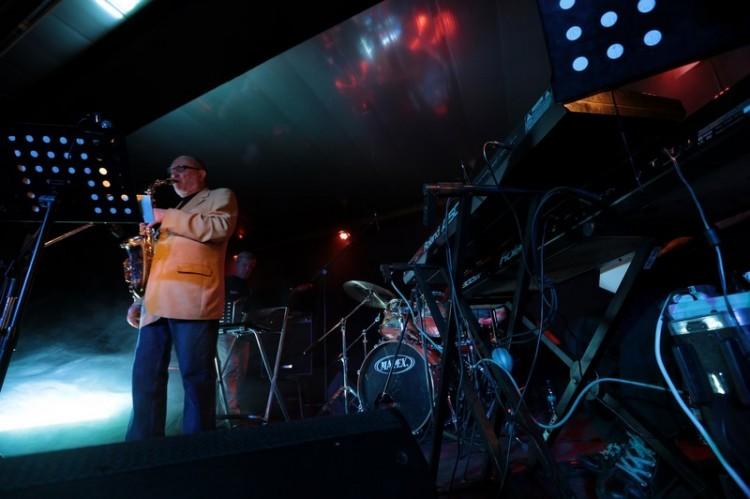 Алексей Козлов на сцене