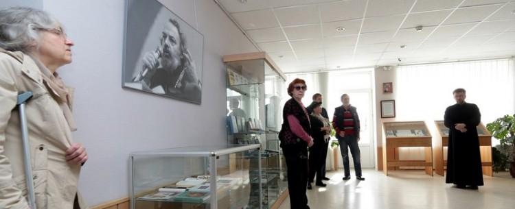 На открытии книжной выставки