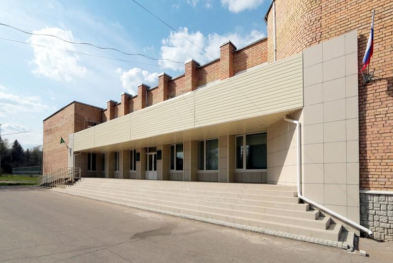Центр Дубрава. Главный вход