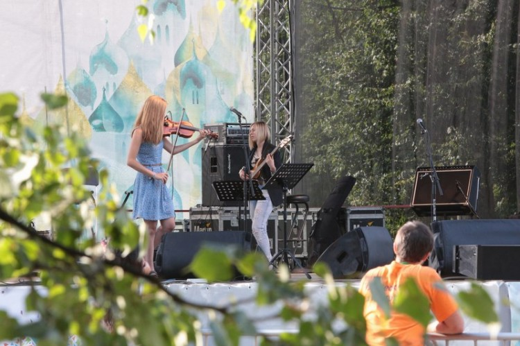 Концерт на Скитских прудах