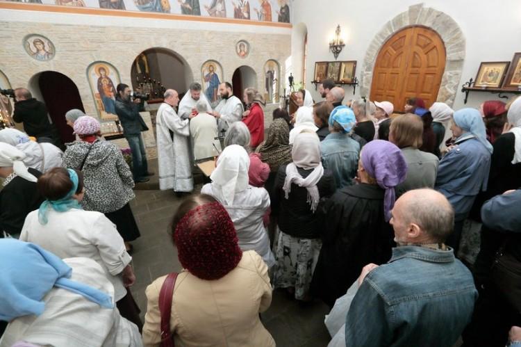 Литургия в Сергиевском храме