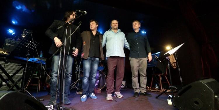 Александр Миронов, Святослав Текучёв, Джоэл Тэйлор и Григорий Ведмедь