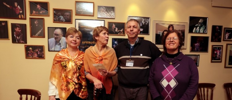 Участники фестиваля памяти Александра Галича
