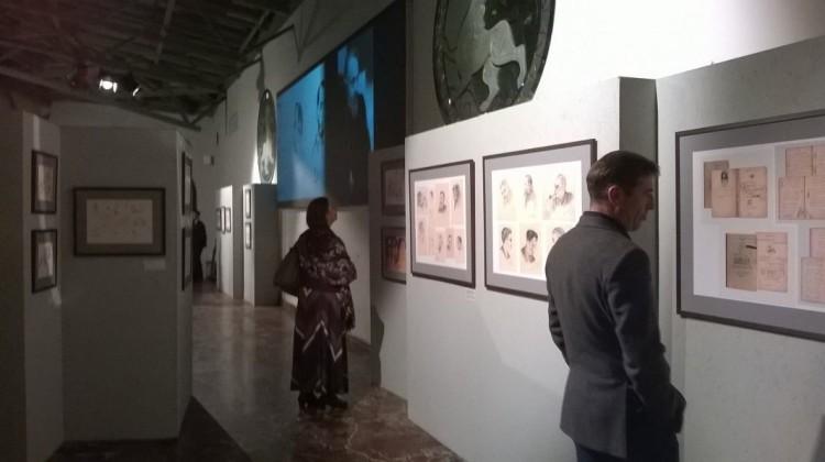 Открытие выставки рисунков прот. А. Меня в Музее русской иконы