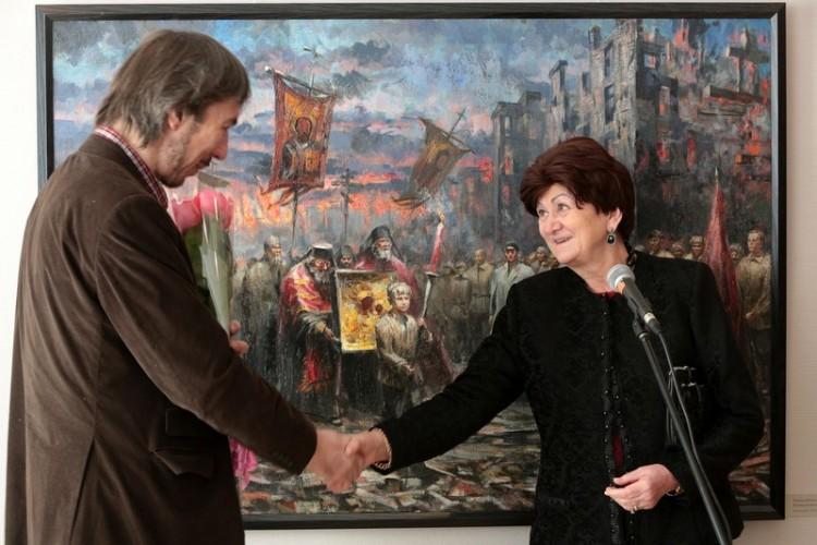 Андрей Лысенко и Екатерина Гениева