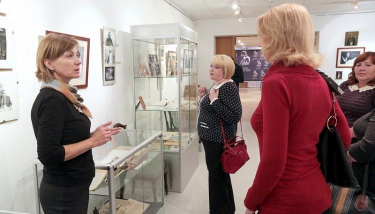Экскурсия для почетных гостей Третьего фестиваля памяти Галича