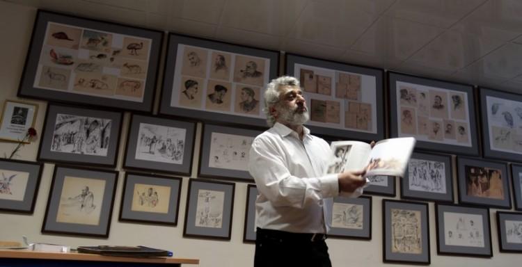 Артем Киракосов рассказывает о выставке