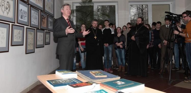 Открытие выставки в Дубне