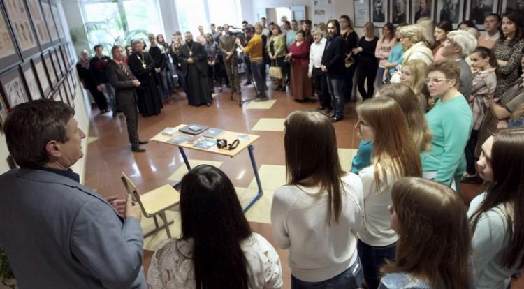 Открытие выставки в Университете Дубны