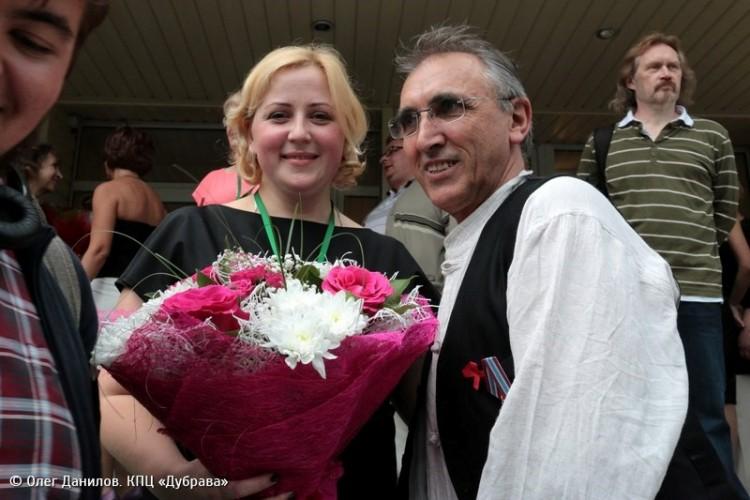 Церемония закрытия театрального фестиваля У Троицы