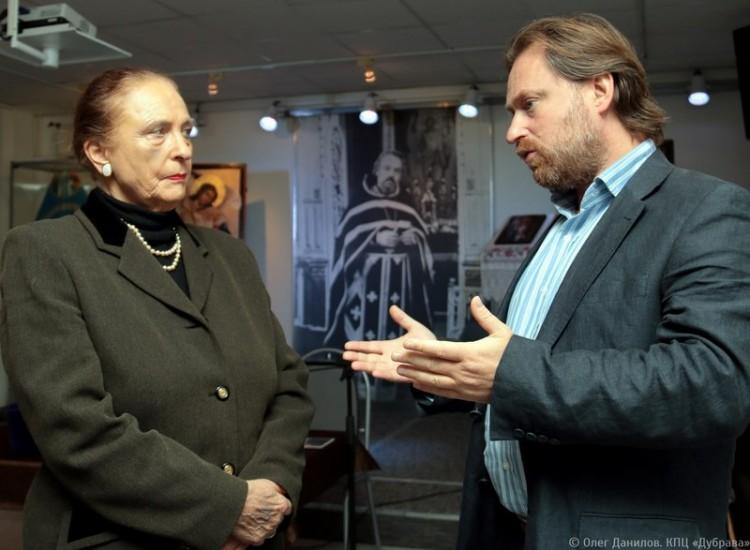 Ирина Кириллова и Сергей Чапнин
