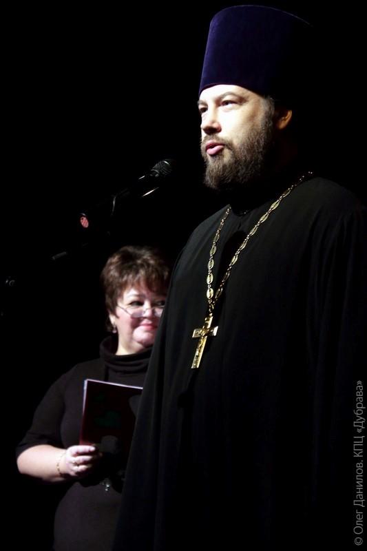 Священник Александр Колесников
