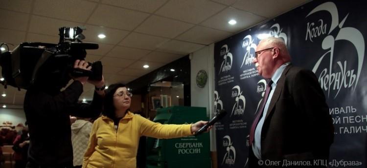 Художественный руководитель фестиваля Владимир Селиверстов