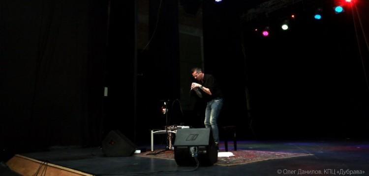 Борис Саволделли на сцене Дубравы