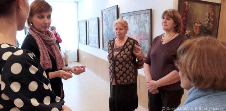 Экскурсия по выставке живописи Виктора Багрова