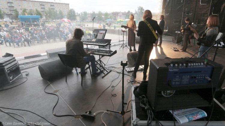 Концерт на Советской площади