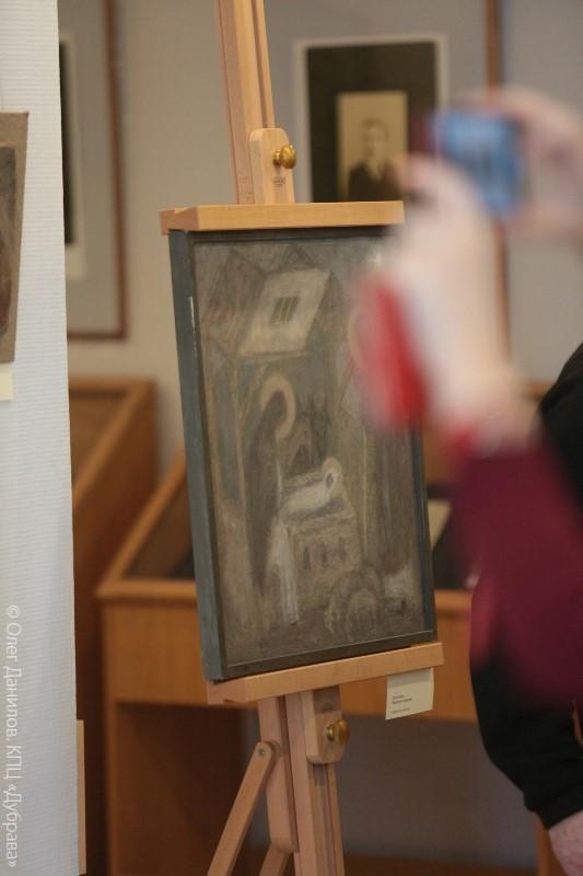На выставке Сергея Антонова и Ирины Зарон