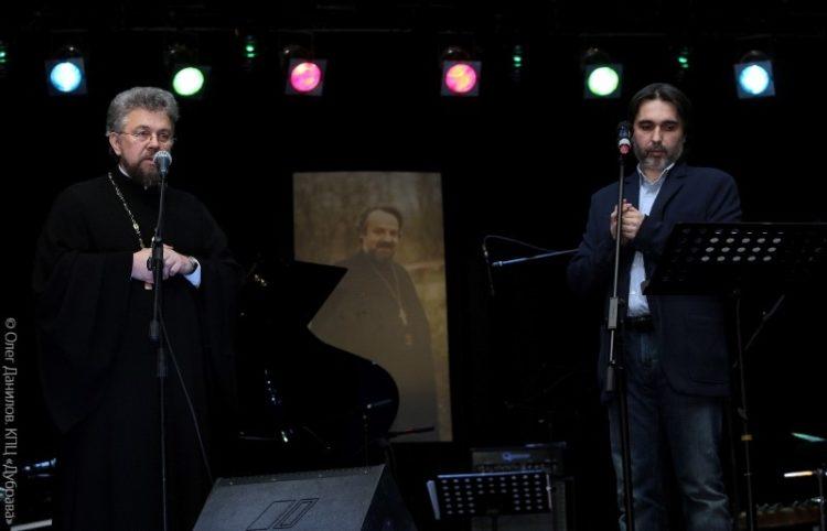 Протоиерей Виктор Григоренко и Александр Миронов