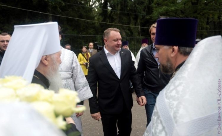 Встреча митрополита Крутицкого и Коломенского Ювеналия