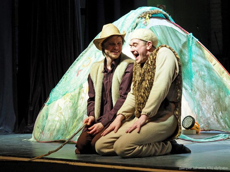 Спектакль «Забавные истории про Хомку и Суслика»