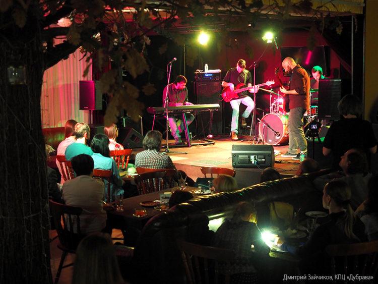 Концерт Eyot
