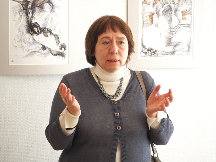 Открытие выставки Лилии Ратнер