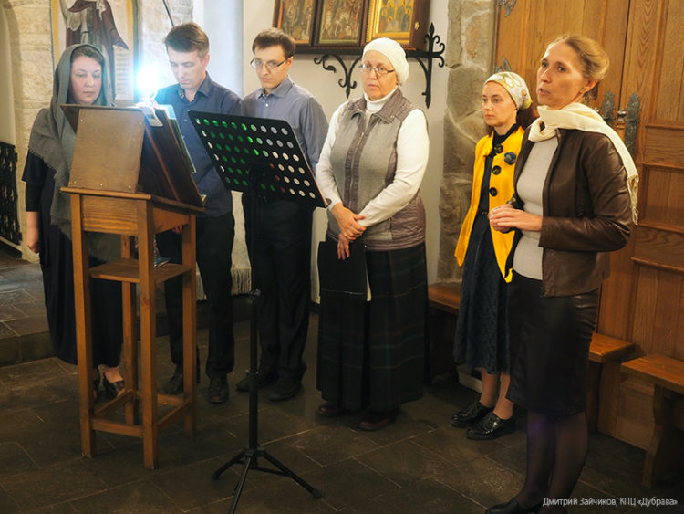 Концерт студии славянского пения