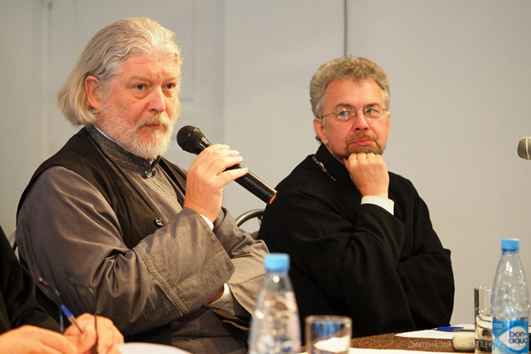 Протоиерей Алексей Уминский и протоиерей Виктор Григоренко