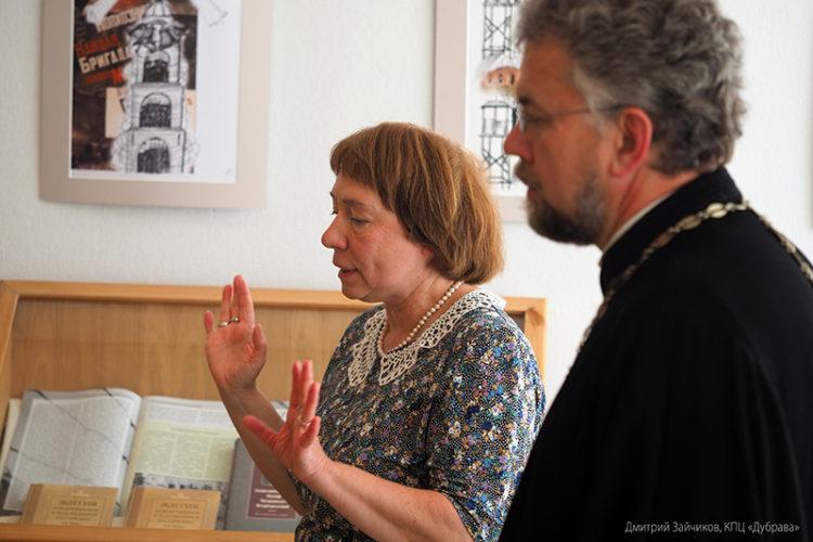 Открытие выставки графики Лилии Ратнер